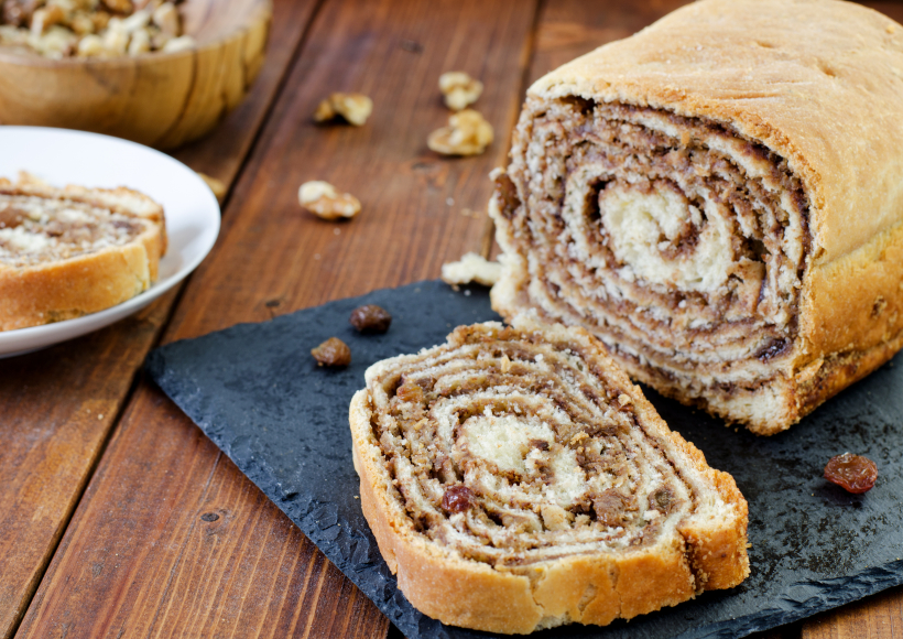 Slovenian pastry called potica
