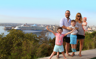 Five tips for a family cruise