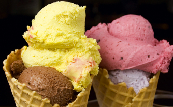 The best ice cream on Lake Garda