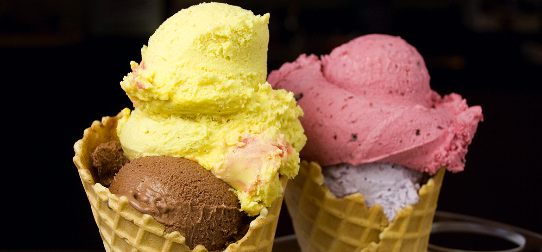 The best ice cream on Lake Garda