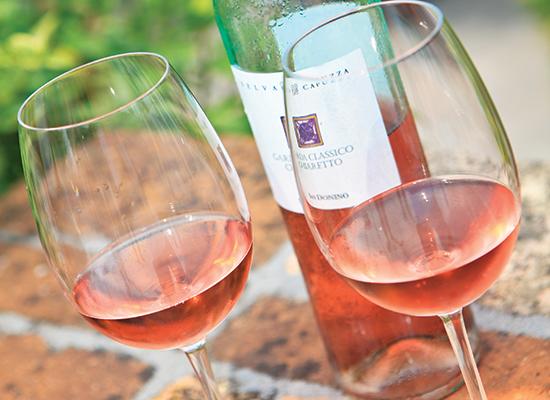 Chiaretto wine
