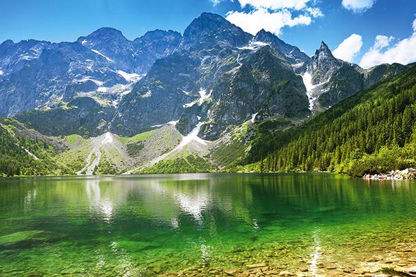 Lake Morskie Oko in Poland. TUI Discover Lakes & Mountains
