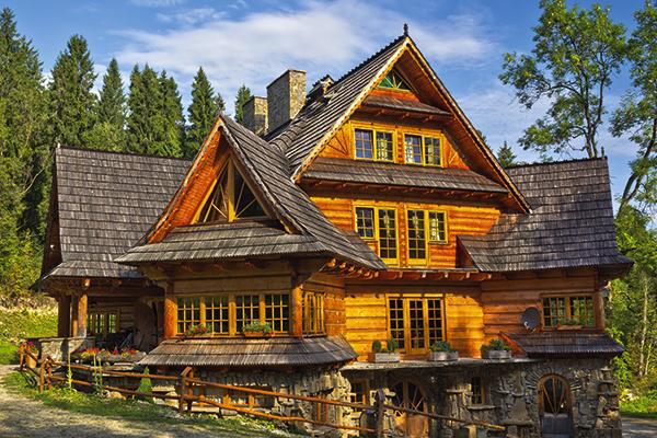 Traditional Zakopane Style house. TUI Discover Lakes & Mountains
