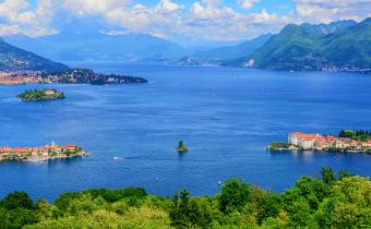 The islands of Lake Maggiore