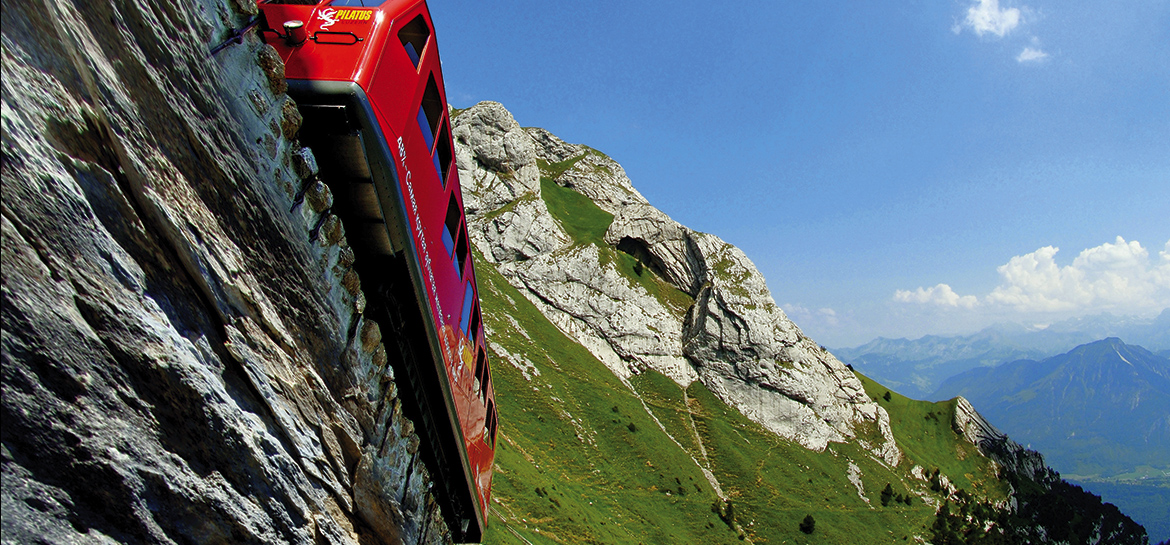 Best Swiss trains and mountain cable cars