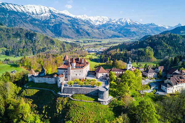 Gruyères in Switzerland