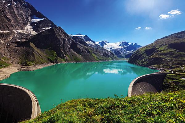 Kaprun dams in Austria