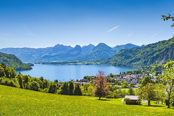 St Gilgen in Austria