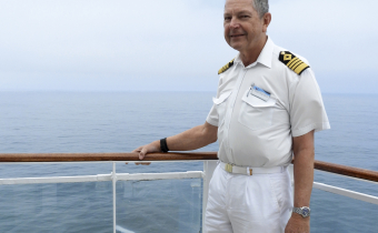 Meet the crew: Captain Peter Harris