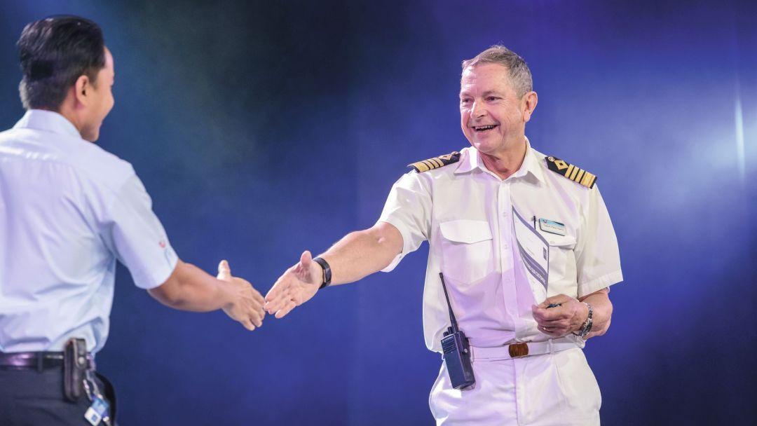 Meet the crew: Captain Peter Harris