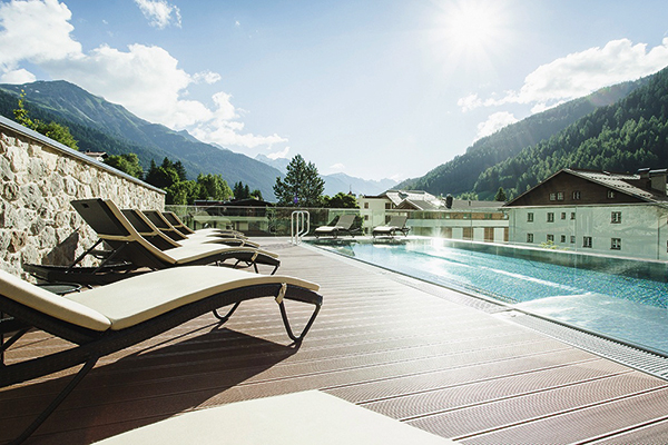 Hotel Schwarzer Adler spa, St Anton