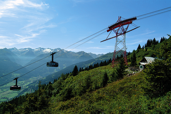 Schlossalmbahn cable car, Bad Hofgastein