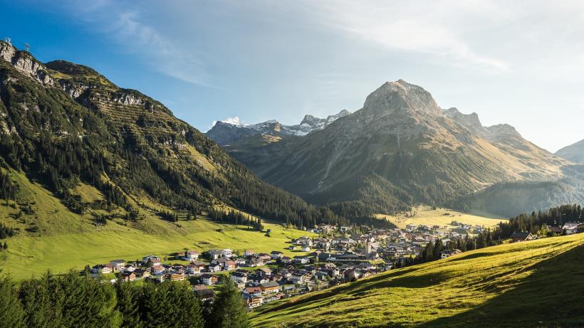 Lech village