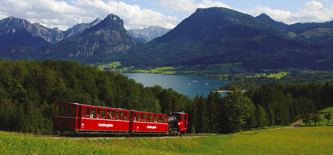 Best cable cars and mountain trains in Austria