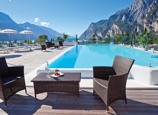 Hotel Kristal Palace, Riva