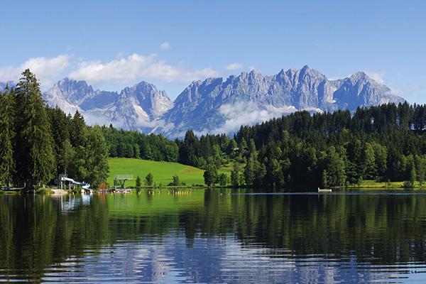 Lake Schwarzee, Kitzbuhel