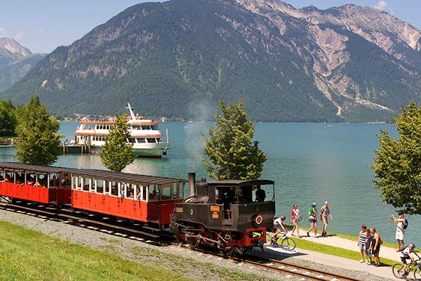 Achensee steam train