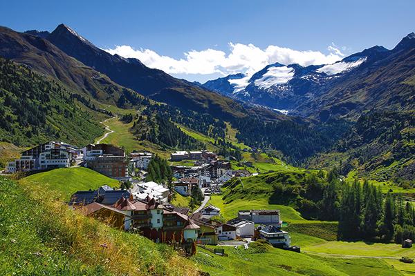 Obergurgl village