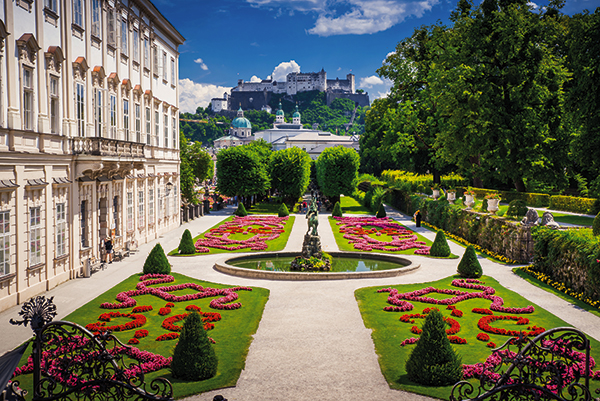 Mirabell Palace in Salzburg, Austria