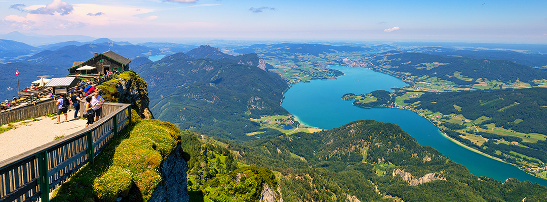 The best views in Europe's lakes and mountains