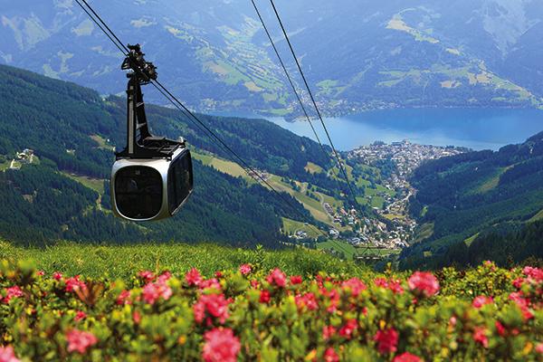 Summer lift in Zell am See, Austria