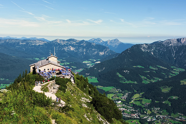 The Eagle's Nest in Berchtesgaden, Austria