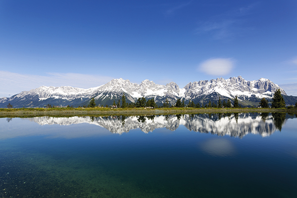 Lake Astberg in Austria