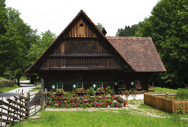 Tyrolean Farmhouse Museum in Alpbach