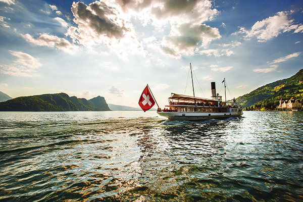 Boat trip on Lake Lucerne