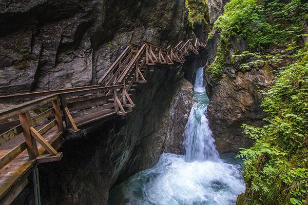 Sigmund Thun gorge in Austria
