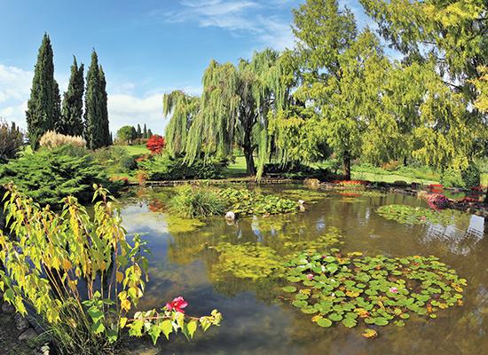 Sigurta gardens in Italy