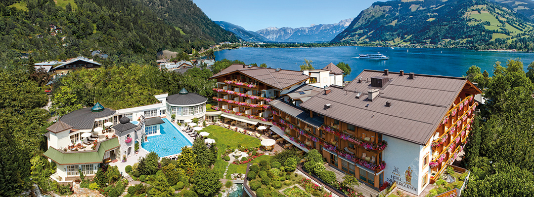 Best hotel pools in Europe's lakes and mountains