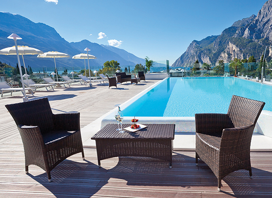 Hotel Kristal Palace in Riva