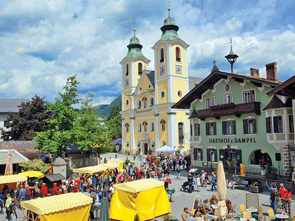 St Johann's main square.