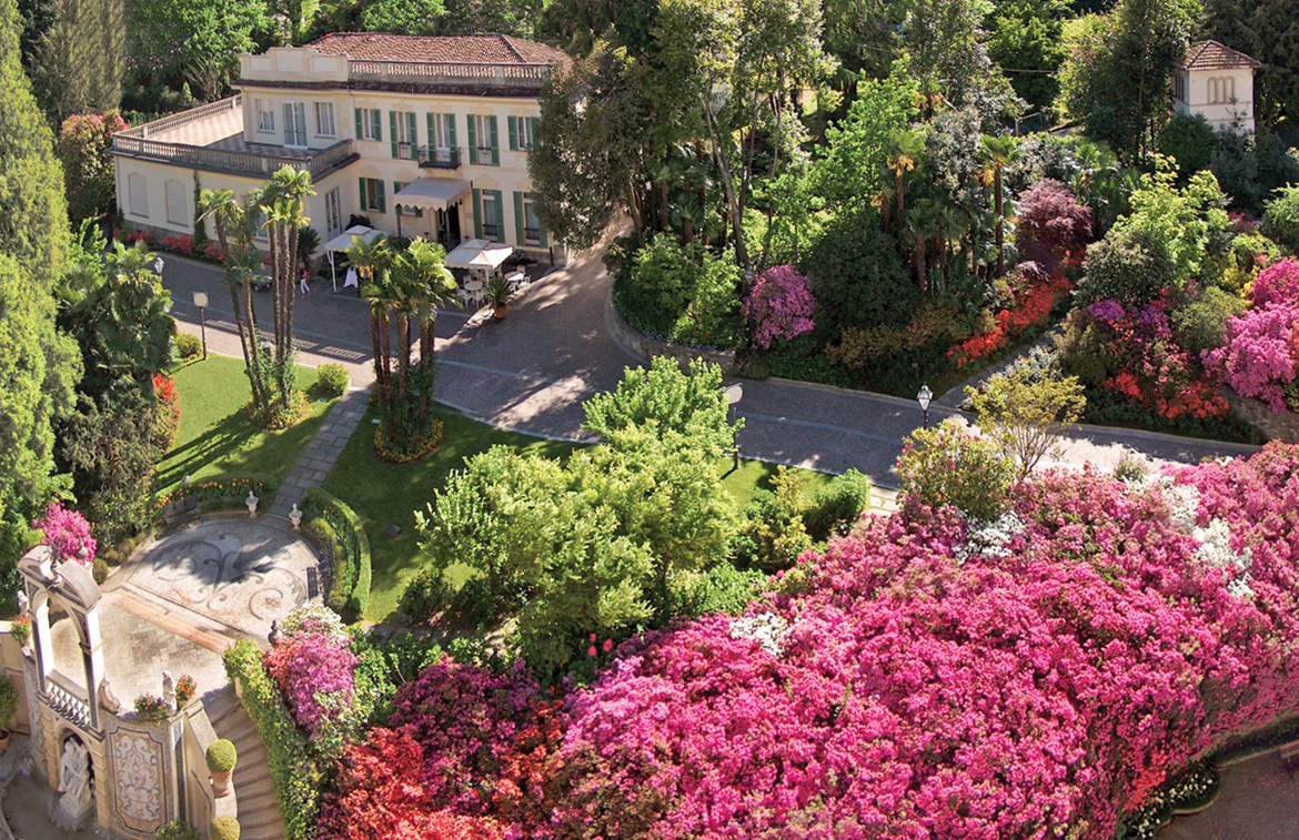 Room with a bloom: European hotels with beautiful gardens